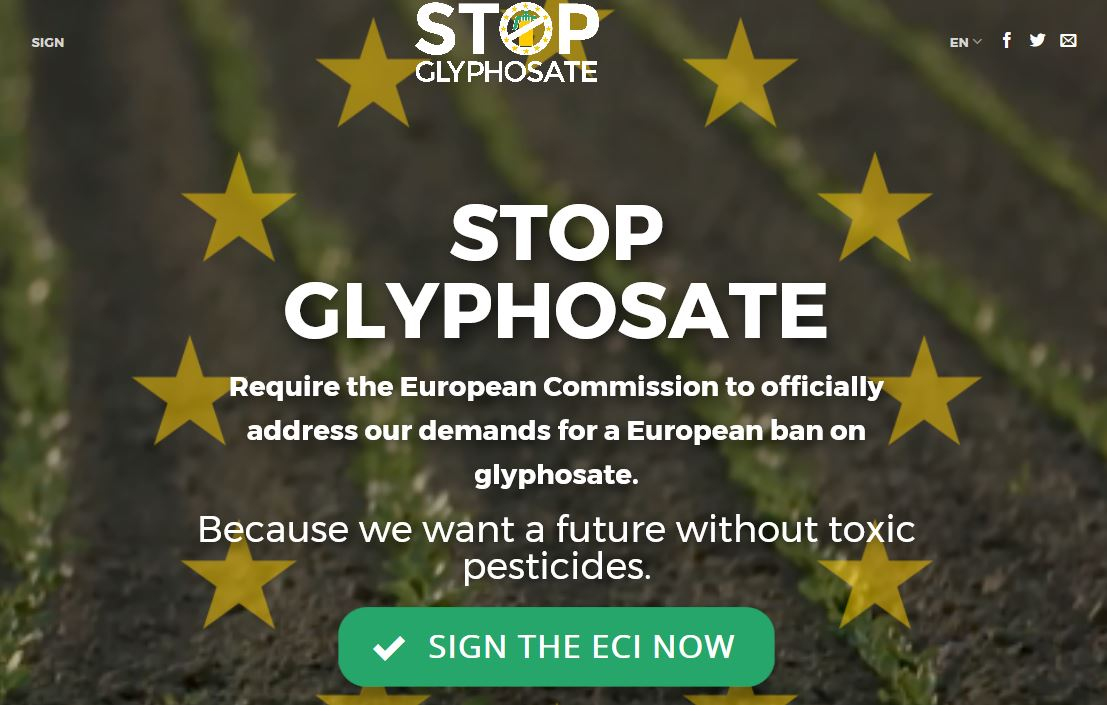 Stop Glyposate Now