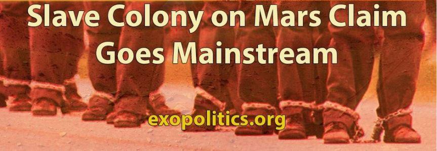 Mars Slave Colony