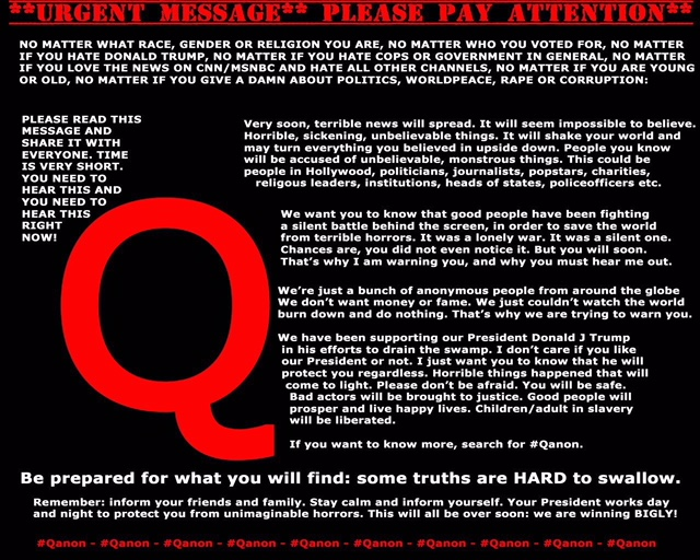 Message From Q Anon January 8 2018 Freedom For Humanity