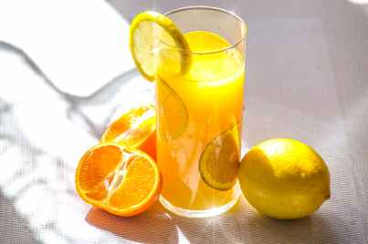 aroma beverage blur citrus